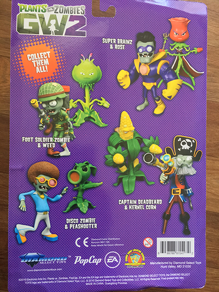 Produits Derives Diamond Select Toys Notre Test Des Figurines Plants Vs Zombies Garden Warfare 2