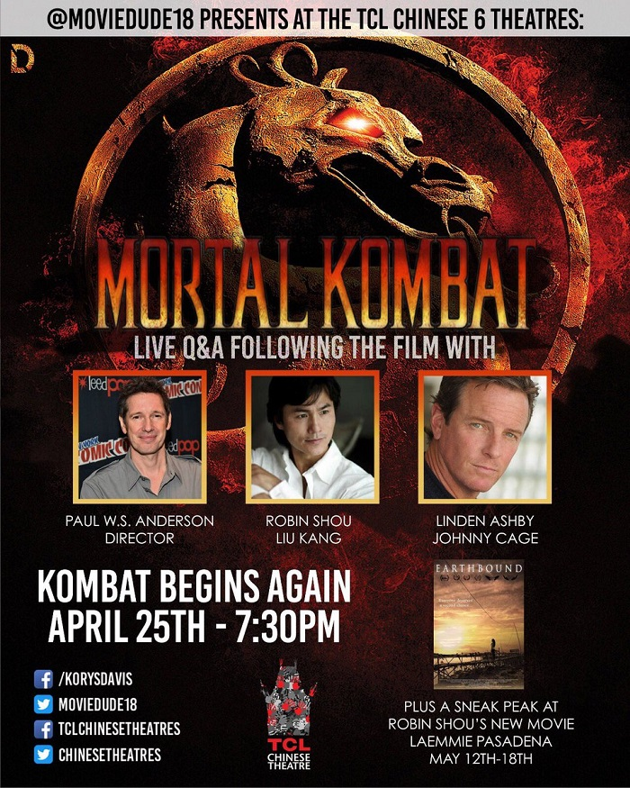Sorties Cinema Mortal Kombat Reunion Screening And Q A With The